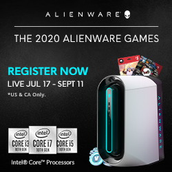 The 2020 Alienware Games Launches With Over $150,000 in Prizes For Gamers