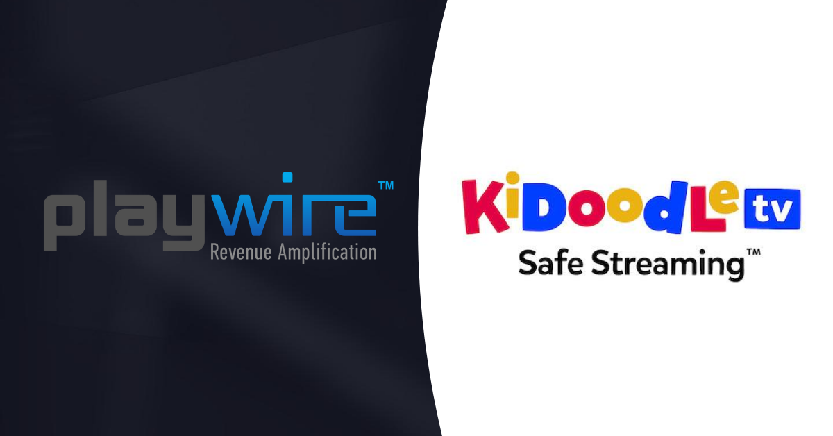 Kidoodle.TV to Exclusively Work With Playwire in the US to Safely Monetize their Kids Content