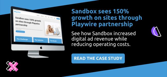 Sandbox | Ad Monetization Case Study