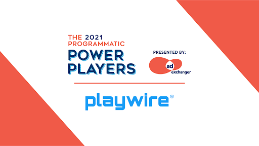 Playwire Chosen As Programmatic Power Player for 2021 By AdExchanger